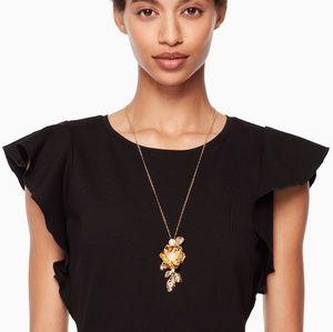 NWOT Kate Spade Lavish Blooms Pendant Necklace